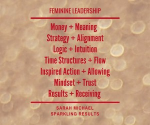 Feminine Leadership website